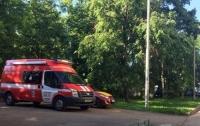 На территории киевской школы обнаружена мина