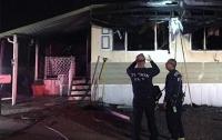 Американец попытался сжечь пауков и спалил дом