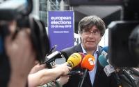 Экс-глава Каталонии Пучдемон прошел в Европарламент