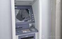 Неизвестные в Киеве из банкомата психбольницы украли полмиллиона гривен