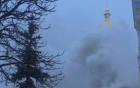 СМИ: В Киево-Печерской Лавре произошел пожар