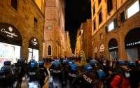 Флоренцию захлестнули массовые беспорядки, есть задержанные