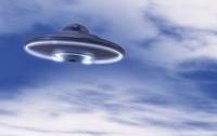 Над Нью-Йорком сверкал НЛО (видео)