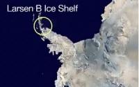 NASA зробило невтішний прогноз щодо зникнення льодовика в Антарктиці через два місяці