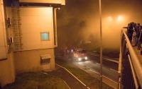 В Киеве произошел крупный пожар в гипермаркете