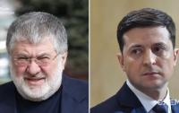 Встреча Зеленского с Коломойским заинтересовала соцсети (фото)