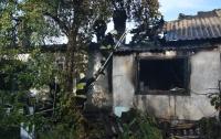 В масштабном пожаре в Днепре сгорели два человека (видео)