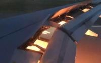 Самолет со сборной Саудовской Аравии на борту загорелся в воздухе