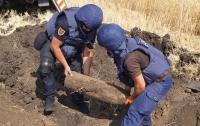 За неделю на Донбассе изъяли и обезвредили 184 взрывоопасных предмета