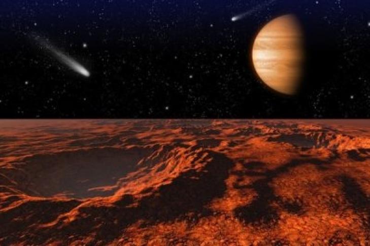 Ученые: Поверхность Марса впитала все реки иозера, как губка