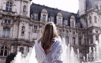 Новый тренд  женской моды: рубашки задом наперед
