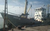 В Азовском море задержали судно рыбаков под флагом России (видео)