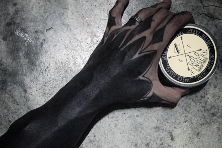 картинки черных татуировок