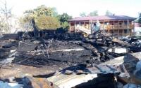 На месте пожара в одесском детском лагере нашли останки третьей погибшей девочки, - полиция