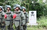 Китай убрал мины на границе с Вьетнамом