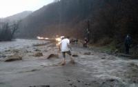 На Чоп движется паводок: подъем воды до 11 метров