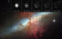 Космический телескоп Hubble зафиксировал световое