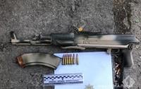 На окраине Одессы обнаружили крупный тайник с оружием