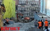 За уничтожением Андреевского спуска в Киеве теперь можно понаблюдать онлайн