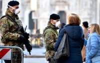Италия вышла на первое место по смертности от коронавируса