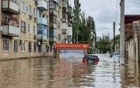 Оккупированный Крым оказался частично под водой (фото)