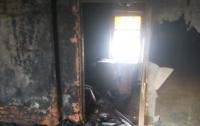 В выгоревшем доме на Харьковщине нашли тело мужчины