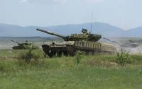 Горячая пора крымских танкистов (ФОТО)