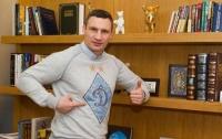 Сразу двоих Кличко заметили в раздевалке футболистов