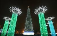 Украина победила в рейтинге лучших новогодних елок Европы