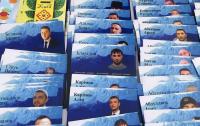 Сенцов и Балух посетили акцию в поддержку пленников Кремля