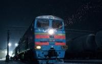 На Киевщине на ходу загорелся поезд