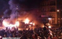 В Киев стягивают «Беркут» из регионов