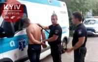 Под Киевом задержали пьяного водителя скорой помощи
