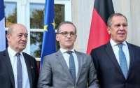 Ситуация на Донбассе: главы МИД России, Германии и Франции провели переговоры
