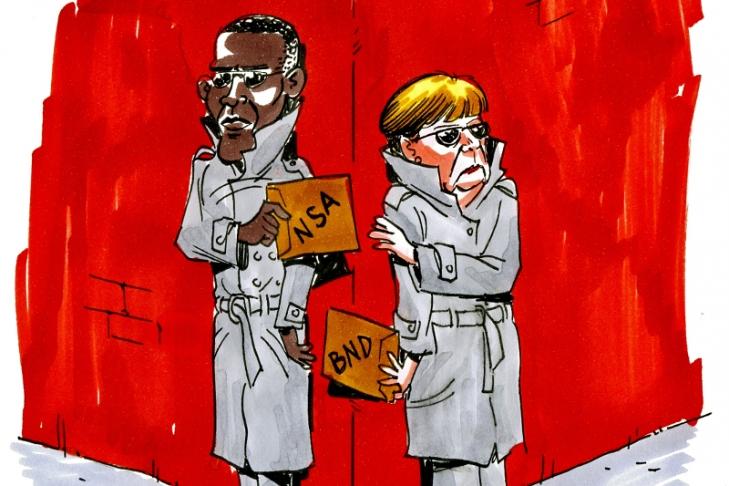 WikiLeaks поведал о изучении сотрудничества германской разведки сАНБ