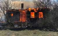 Горело почти 30 домов: На Житомирщине огонь с сухой травы перекинулся на село