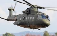 В Японии рухнул вертолет морских сил самообороны