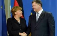 Порошенко встретится с Меркель: названа дата встречи