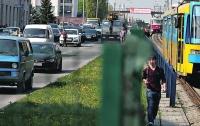 В Киеве на линии скоростного трамвая – второе ЧП за день