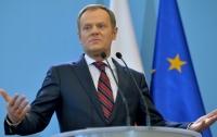 Только тот, кто солидарен с Украиной, имеет право называться европейцем, - Туск