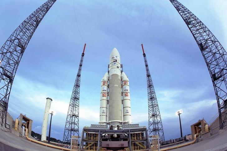 Во Франции была запущена ракета-носитель Vega