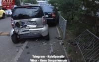 Пьяный водитель во время гонок по улицам Киева разбил девять авто