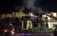 В Луцке два человека пострадали при взрыве и пожаре в гостинице