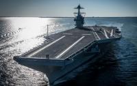 ВМС США просяи перенести взрывные испытания нового авианосеца на 6 лет