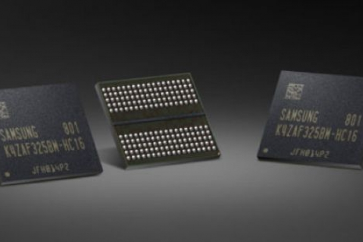 Самсунг приступила кмассовому производству микросхем памяти GDDR6 плотностью 16 Гбит