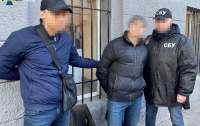 В Харькове задержали медика, требовавшего взятку у нацгвардейцев
