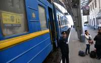 Поезд, курсирующий из Львова в Москву, забросали камнями