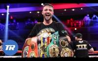 Британский боксер Тейлор стал абсолютным чемпионом мира