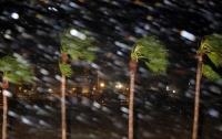 Скорость ветра в урагане