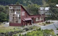 В японском городке Камикацу построили дом из переработанных отходов